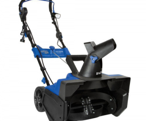 $166.99 (was $294.99) Snow Joe Ultra 21 Inch 15 Amp Electric Snow Thrower with 4 Blade Auger & Light