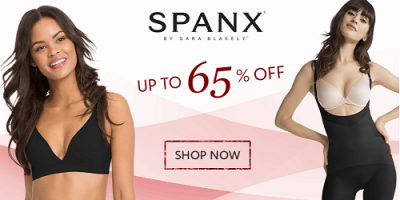 Spanx up to 65 Percent Off At Zulily