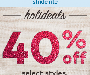 Stride Rite Sale 40 Percent Off Select Styles