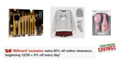 Target: 70% off Clearance + Extra 25% for RedCard Holders