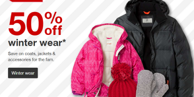 50 Percent Off Winter Wear At Target (To...