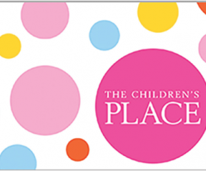 $40 (was $50) The Children's Place Gift Card