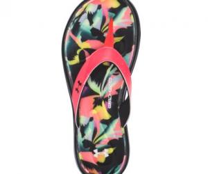 $9.88 (was $34.99) Under Armour Women's Marbella Floral V Flip-Flops