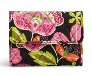 $5.99 (was $32) Vera Bradley Factory Exclusive Euro Wallet