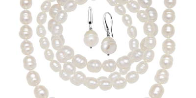 $19.99 (was $179) White Freshwater Pearl...