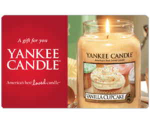 $40 (was $50) Yankee Candle Gift Card