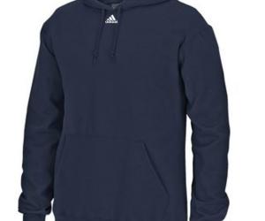 $20.50 (was $50) adidas Men's 9 oz Fleece Hoodie Athletic Training Hooded Pullover Sweatshirt