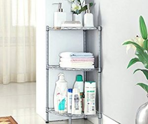 Get $4 off Corner 3-Tier Shelf for Bath, Office, Kitchen