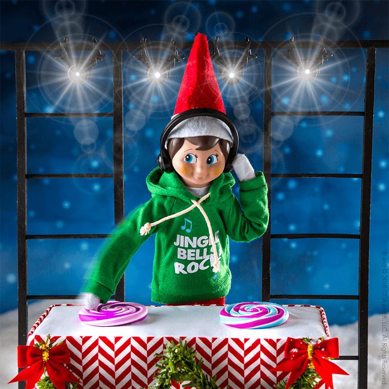 Extreme Elf Fun - Elf Jingle Hoodie