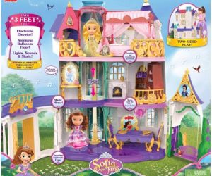 $89.97 (was $149.88) Disney Sofia the First Enchancian Castle