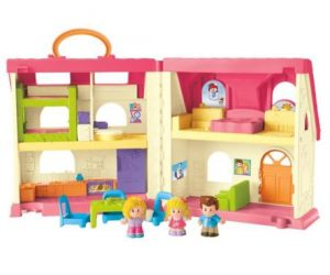 $21.35 (was $40) Fisher-Price Little People Surprise and Sounds Home