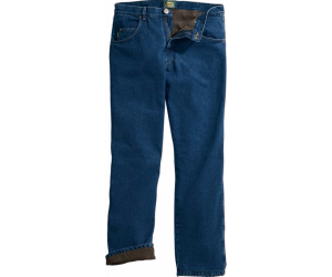 $29.99 (was $49.99) Cabela's Roughneck™ Men's Relaxed-Fit Fleece-Lined Denim Jeans