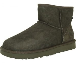 $88.99 (was $140) Ugg Women's Classic Mini II Leather Ankle-High Suede Boot