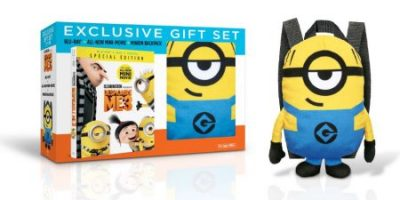 $15.96 (was $49.98) Despicable Me 3 (Walmart Exclusive) (Blu-ray + DVD + Digital HD + Plush Minion Backpack)