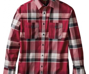 $19.88 (was $59.99) Cabela's Men's Monument Ridge Stretch Woven Long-Sleeve Shirt