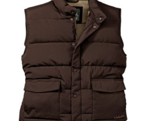 $64.99+ (was $129.99+) Cabela's Men's Woodsman Fleece-Lined Vest with 4MOST DOWN™