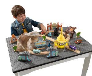 $42.97 (was $84.99) KidKraft Disney® Pixar Cars 3 50 Piece Radiator Springs Track Set
