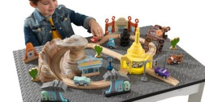 $42.97 (was $84.99) KidKraft Disney® Pixar Cars 3 50 Piece Radiator Springs Track Set
