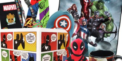 $35.49 (was $44) Superhero Gift Box with...