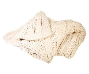 $199.98 (was $299) UGG Cable Knit Blanket