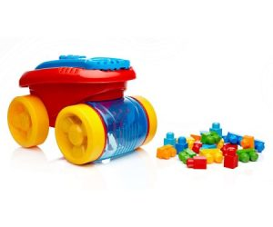$9.97 (was $24.52) Mega Bloks First Builders Block Scooping Wagon
