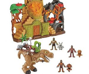 As low as $41.99 (was $99.99) Fisher-Price Imaginext Dino Fortress Set