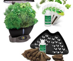 $79.95 (was $199.95) AeroGarden Classic 6 Smart Garden plus BONUS Seed Starting System
