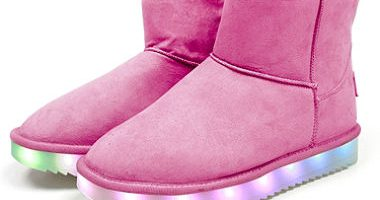 $24.98 (was $39.98) WonderTech Girl's LED Boots