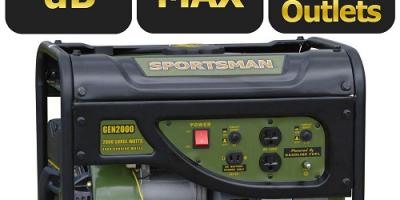 $149 (was $279) Sportsman 2,000-Watt Gas...