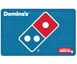 $20 (was $25) Domino's Gift Card