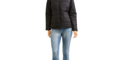 $6.50 (was $10) Faded Glory Women's Lightweight Bubble Jacket Coat
