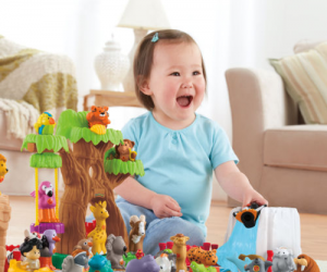 $44.49 (was $70) Fisher-Price Little People A To Z Learning Zoo