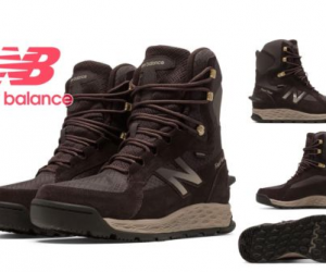 $59.99 (was $149.99) New Balance BM1000BR Men's Fresh Foam 1000 Cold Weather Insulated Boots