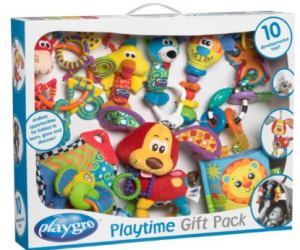 $35.99 (was $78.99) Playgro Playtime 10 Piece Gift Pack
