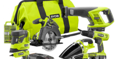 *HOT* 18-Volt ONE+ Cordless Lithium-Ion 7-Tool Combo Kit: $159 (was $299)