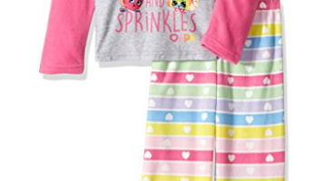 Snag This Adorable Shopkins Girls' Little 2-Piece Pajama Set!