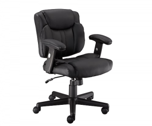$59.99 (was $99.99) Staples Telford II Luxura Managers Chair, Black