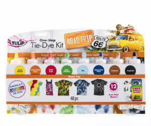 $6 (was $14.99) Tulip One-Step Tie-Dye Kit-Road Trip