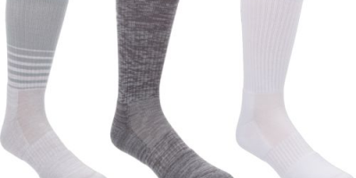 $4.99 (was $18.99) Under Armour Men's Phenom Twisted Crew Socks 3 Pairs