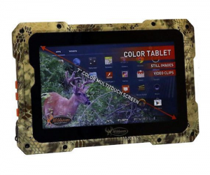 $24.99 (was $69.99) Wildgame Innovations Trail Pad Series VU100 7″ Android Photo Media Viewer Tablet