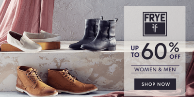 Frye Up to 60% Off At Zulily