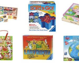 Up to 60% off of Ravensburger and Melissa and Doug Puzzles!
