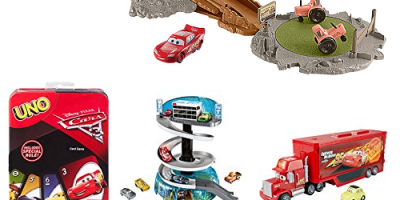 Save up to 40% on select Cars 3 toys (To...
