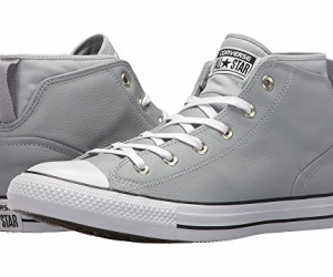 $31.99 (was $75) Converse Chuck Taylor All Star Syde Street Leather Mid