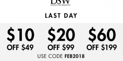 DSW Coupon Code With Deals (Today Only)