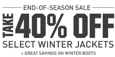 End Of Season Sale At Dick's Sport...