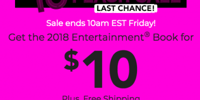 Today Only!  Get an Entertainment Book f...