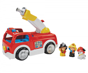 $12.24 (was $24.99) Fisher-Price Little People Lift & Lower Fire Truck
