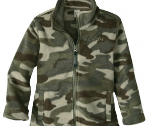 $4.88 (was $24.99) Cabela's Infants'/Toddlers' Fleece Snake River Jacket