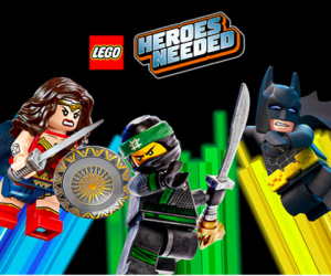 FREE Lego Heroes Building Event at Toys R Us!